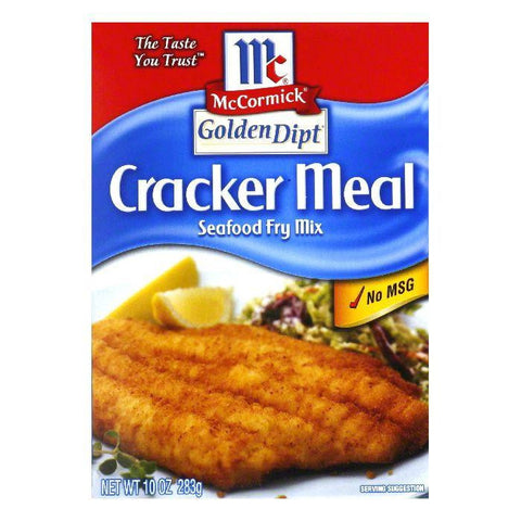 Golden Dipt Cracker Meal Fry Mix, 10 OZ (Pack of 8)