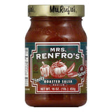 Mrs. Renfro's Salsa Roasted, 16 OZ (Pack of 6)