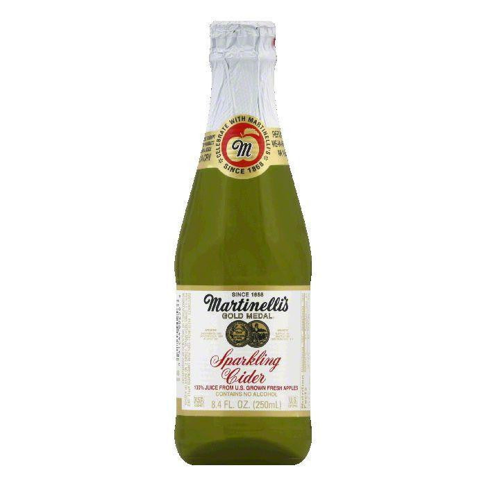 Martinellis Sparkling Cider, 250 ML (Pack of 12)