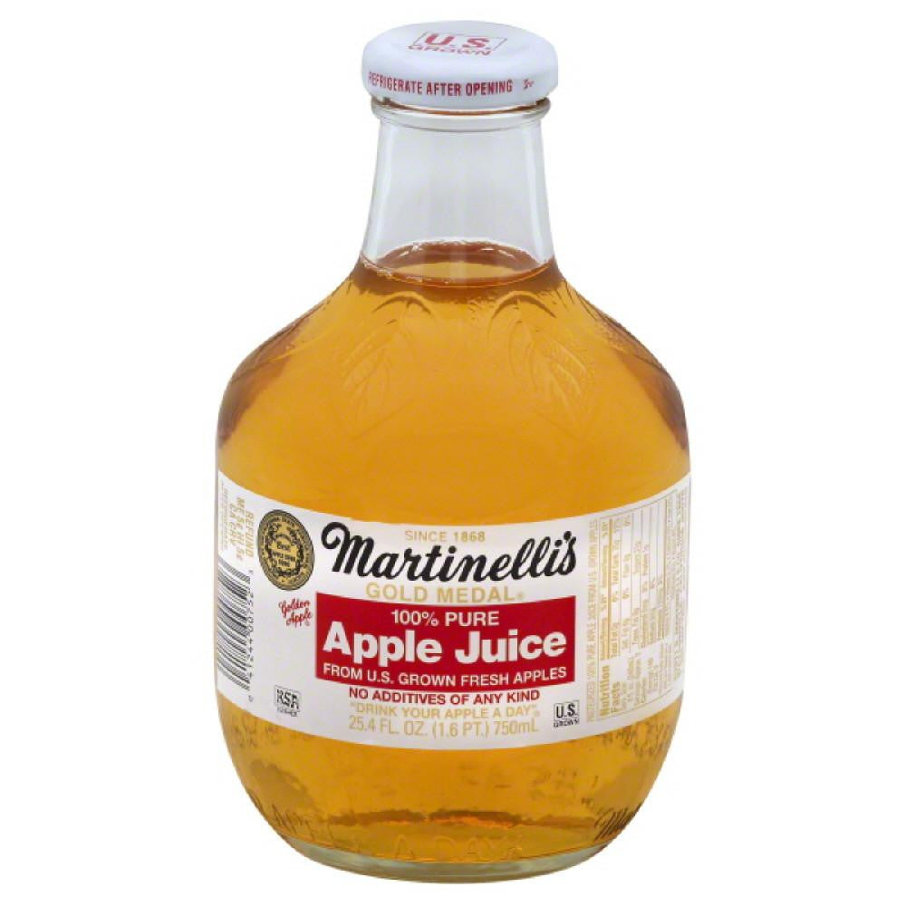 Martinellis Apple Pure 100% Juice, 25.4 Fo (Pack of 12)