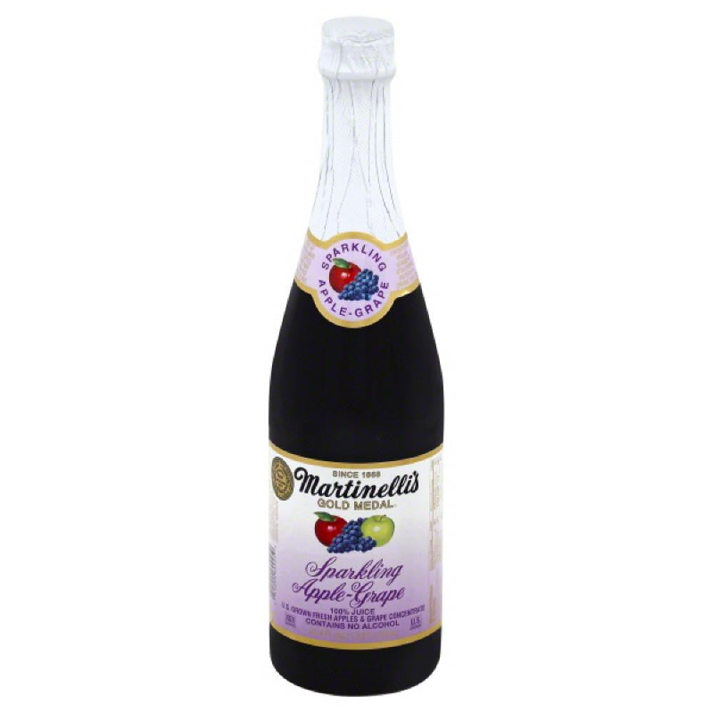 Martinellis Sparkling Apple-Grape 100% Juice, 25.4 Fo (Pack of 12)