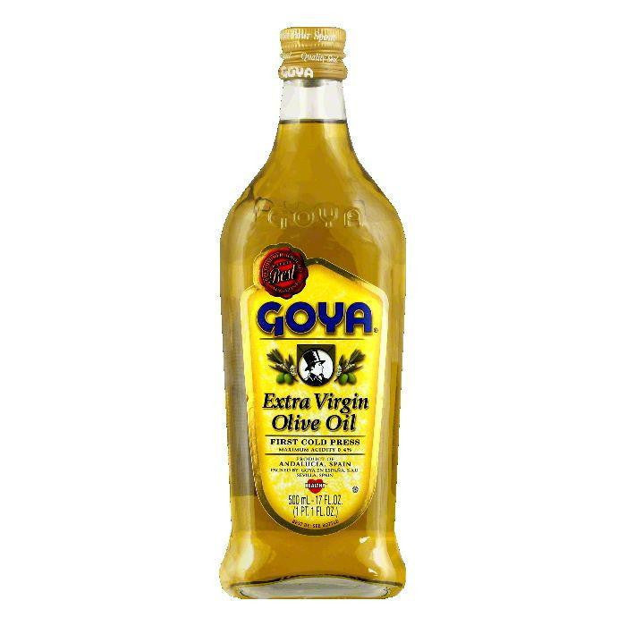 Goya Extra Virgin Olive Oil, 17 OZ (Pack of 12)
