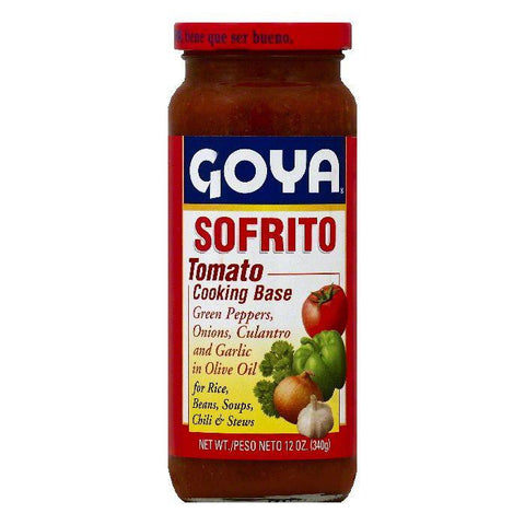 Goya Sofrito Tomato Cooking Base, 12 OZ (Pack of 24)