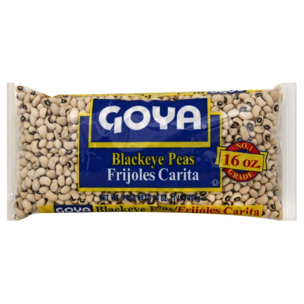 Goya Blackeye Peas, 16 Oz (Pack of 24)