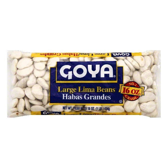 Goya Large Lima Beans, 16 OZ (Pack of 24)