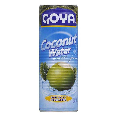 Goya Coconut Water, 17.6 OZ (Pack of 24)