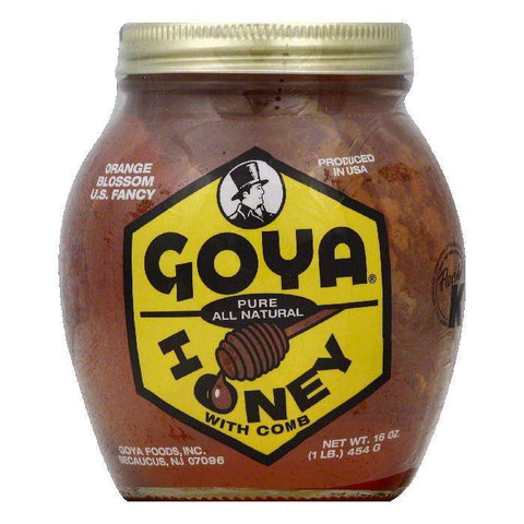 Goya Orange Blossom with Comb Honey, 16 OZ (Pack of 12)