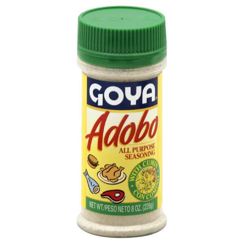 Goya All Purpose Seasoning with Cumin, 8 Oz (Pack of 24)