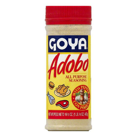 Goya All Purpose Seasoning with Pepper, 16.5 OZ (Pack of 24)