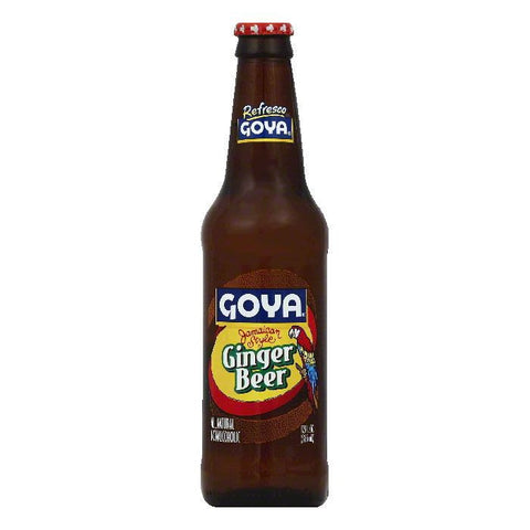 Goya Jamaican Style Ginger Beer, 12 OZ (Pack of 24)