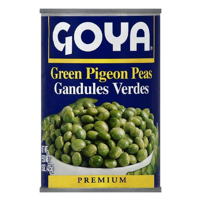 Goya Premium Green Pigeon Peas, 15 OZ (Pack of 24)