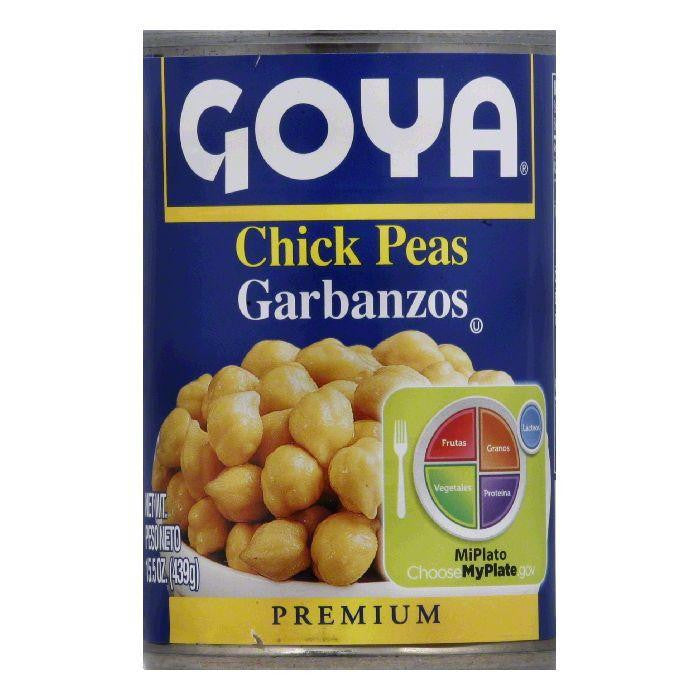 Goya Chick Peas, 15.5 OZ (Pack of 24)