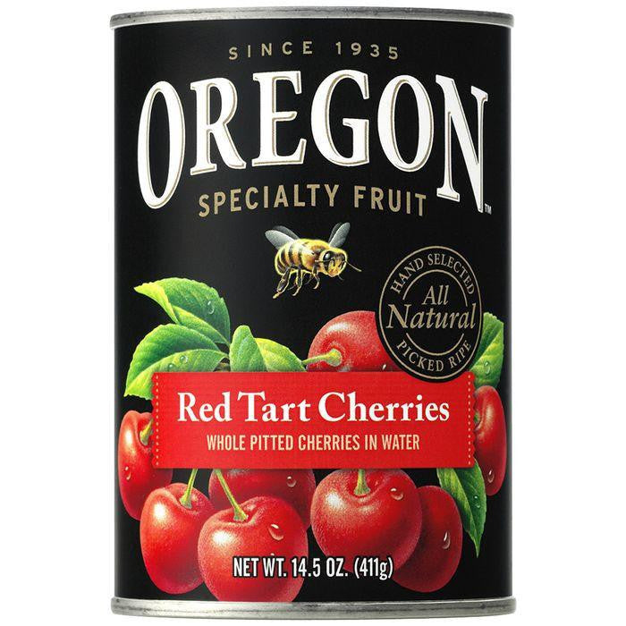 Oregon Fruit Products Pitted Red Tart Cherries in Water 14.5 Oz (Pack of 8)
