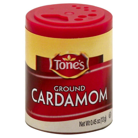 Tones Ground Cardamom, 0.45 Oz (Pack of 6)