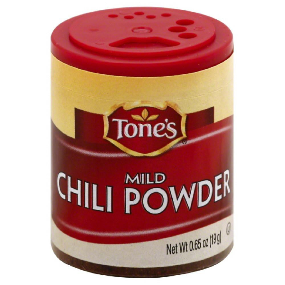 Tones Mild Chili Powder, 0.65 Oz (Pack of 6)