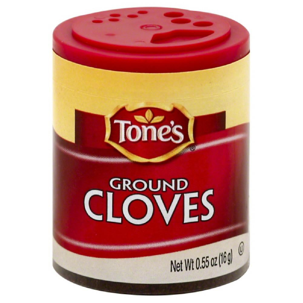 Tones Ground Cloves, 0.55 Oz (Pack of 6)