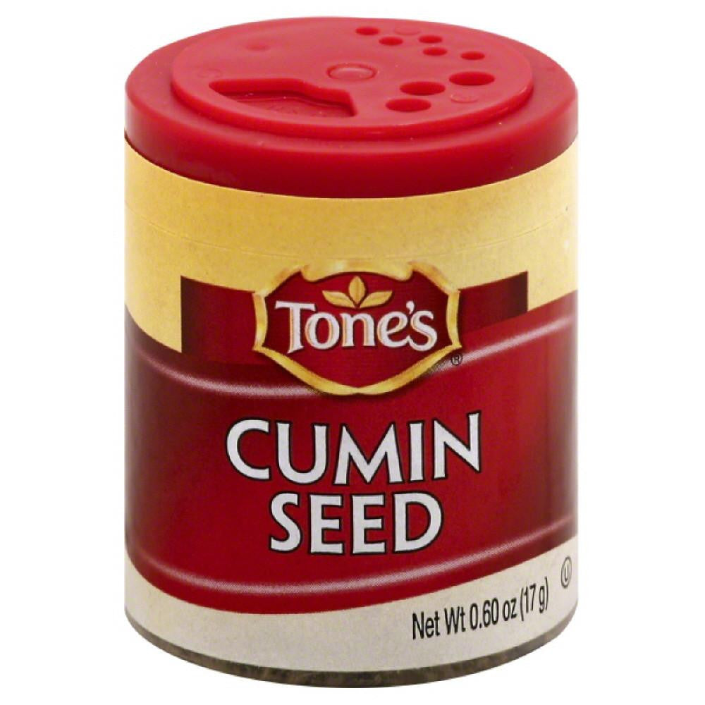 Tones Cumin Seed, 0.6 Oz (Pack of 6)