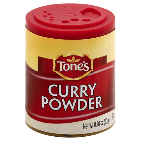 Tones Curry Powder, 0.7 Oz (Pack of 6)