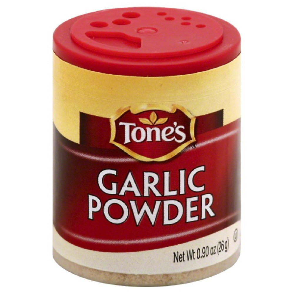 Tones Garlic Powder, 0.9 Oz (Pack of 6)