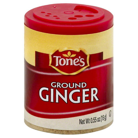 Tones Ground Ginger, 0.55 Oz (Pack of 6)