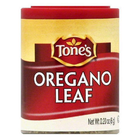 Tones Oregano Leaf, 0.2 OZ (Pack of 6)