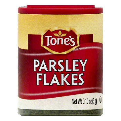 Tones Parsley Flakes, 0.1 OZ (Pack of 6)
