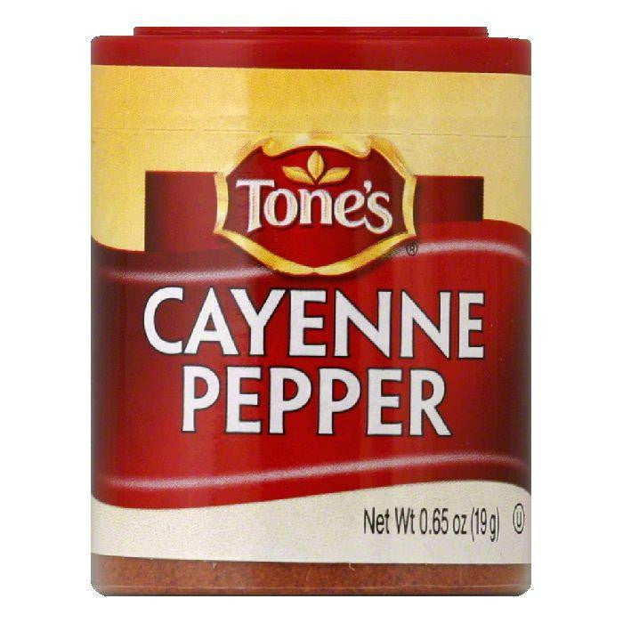 Tone's Cayenne Pepper, 0.65 OZ (Pack of 6)