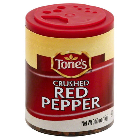 Tones Crushed Red Pepper, 0.5 Oz (Pack of 6)