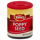 Tones Poppy Seed, 0.8 Oz (Pack of 6)