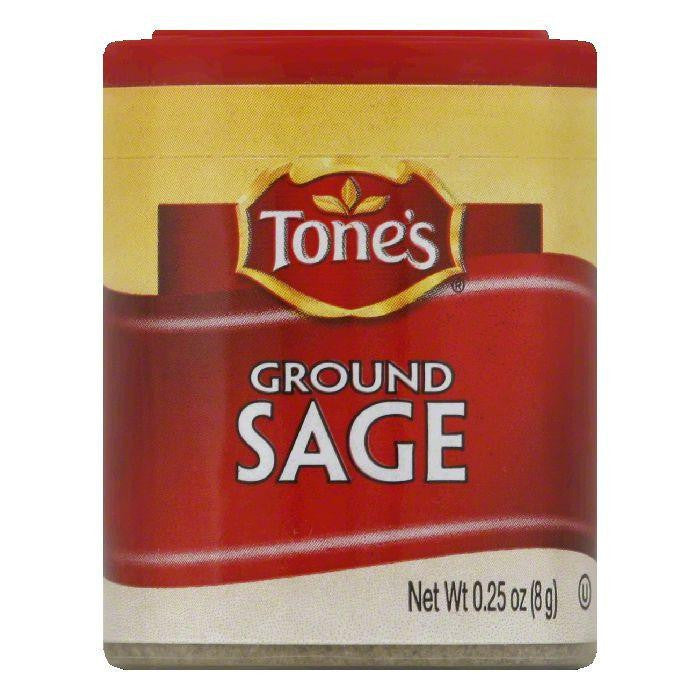 Tone's Mini Ground Sage, 0.25 OZ (Pack of 6)