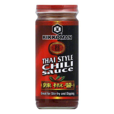 Kikkoman Sauce Chili Thai Style, 9.3 OZ (Pack of 6)