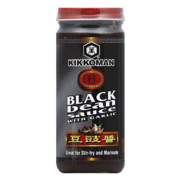 Kikkoman Sauce Black Bean, 8.7 OZ (Pack of 6)