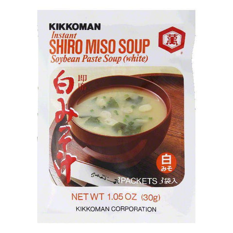 Kikkoman Instant Soup Mix Shiro Miso (Pack of 12)