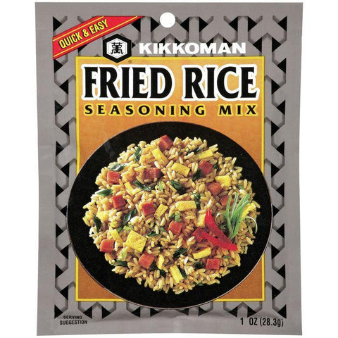 Kikkoman Fried Rice Seasoning Mix 1 OZ (Pack of 24)