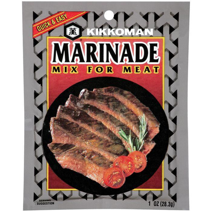 Kikkoman For Meat Marinade Mix 1 OZ (Pack of 12)