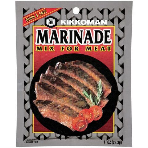 Kikkoman For Meat Marinade Mix 1 OZ (Pack of 24)