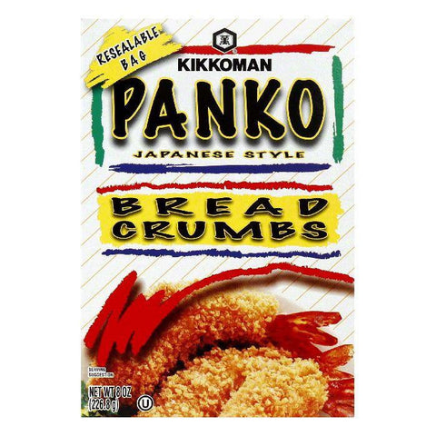 Kikkoman Panko Breadcrumbs, 8 OZ (Pack of 12)