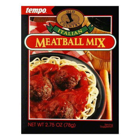 Tempo Italian Meal Ball Mix, 2.75 OZ (Pack of 12)