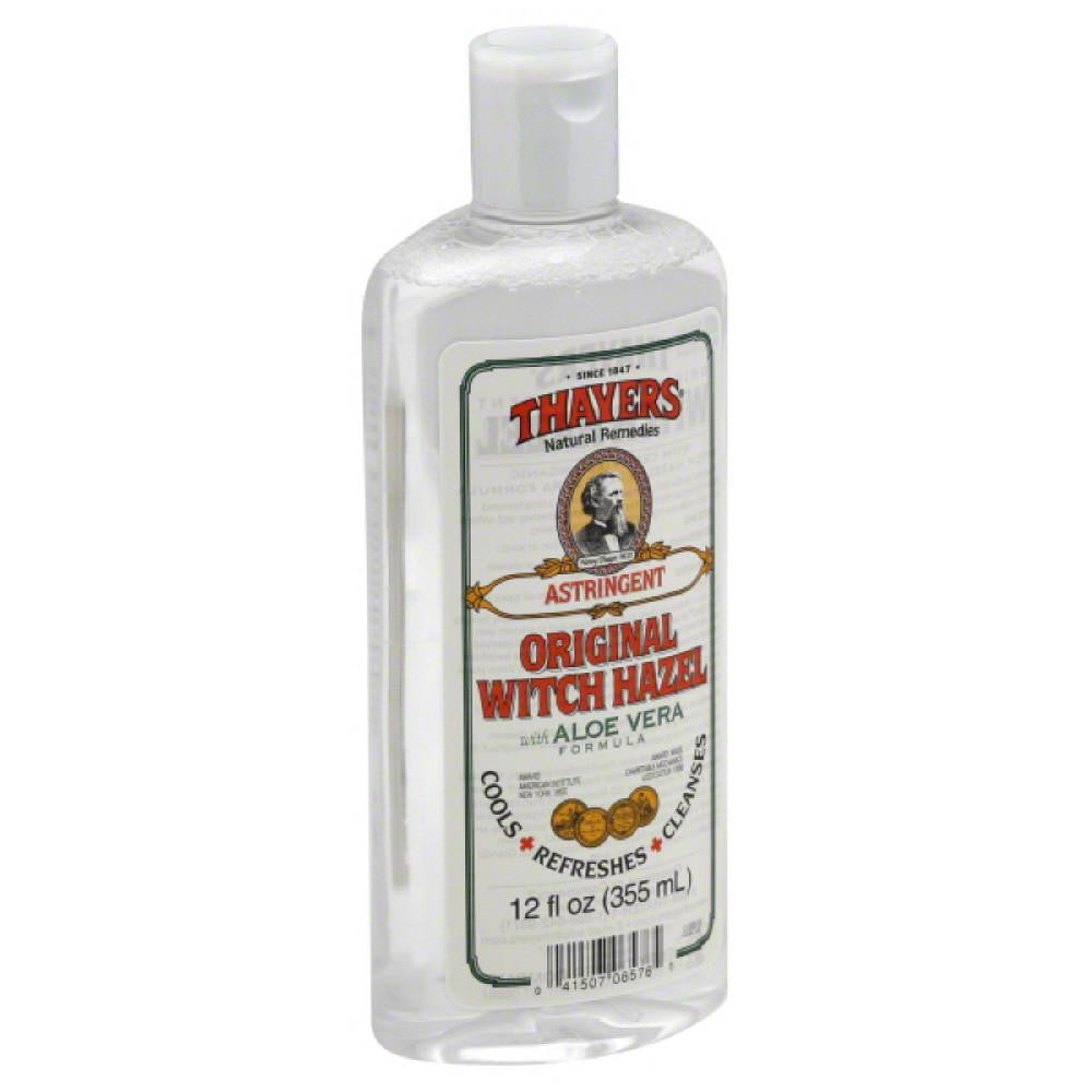 Thayers Original Witch Hazel Astringent, 12 Oz (Pack of 3)