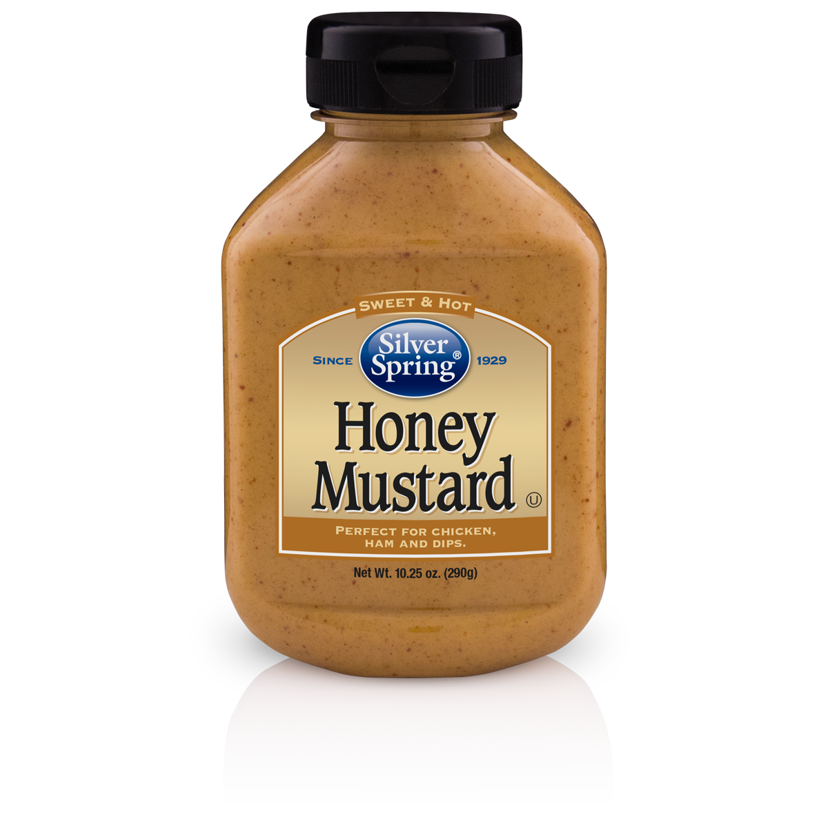 Silver Springs Mustard Honey, 10.25 OZ (Pack of 9)