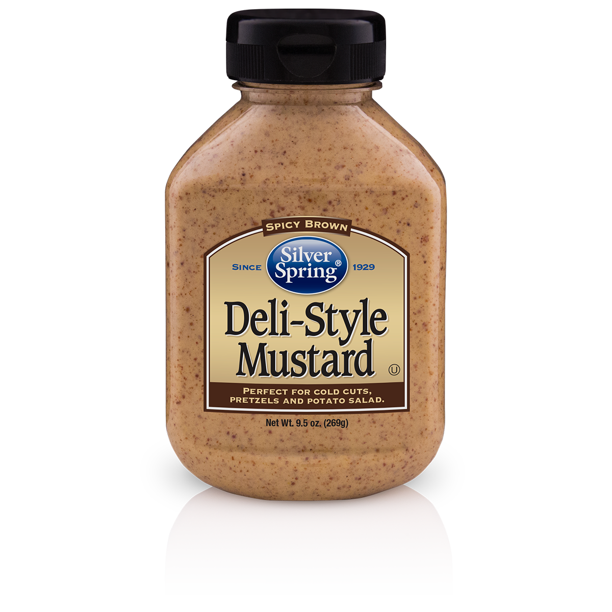 Silver Springs Mustard Deli Style Horseradish, 9.5 OZ (Pack of 9)