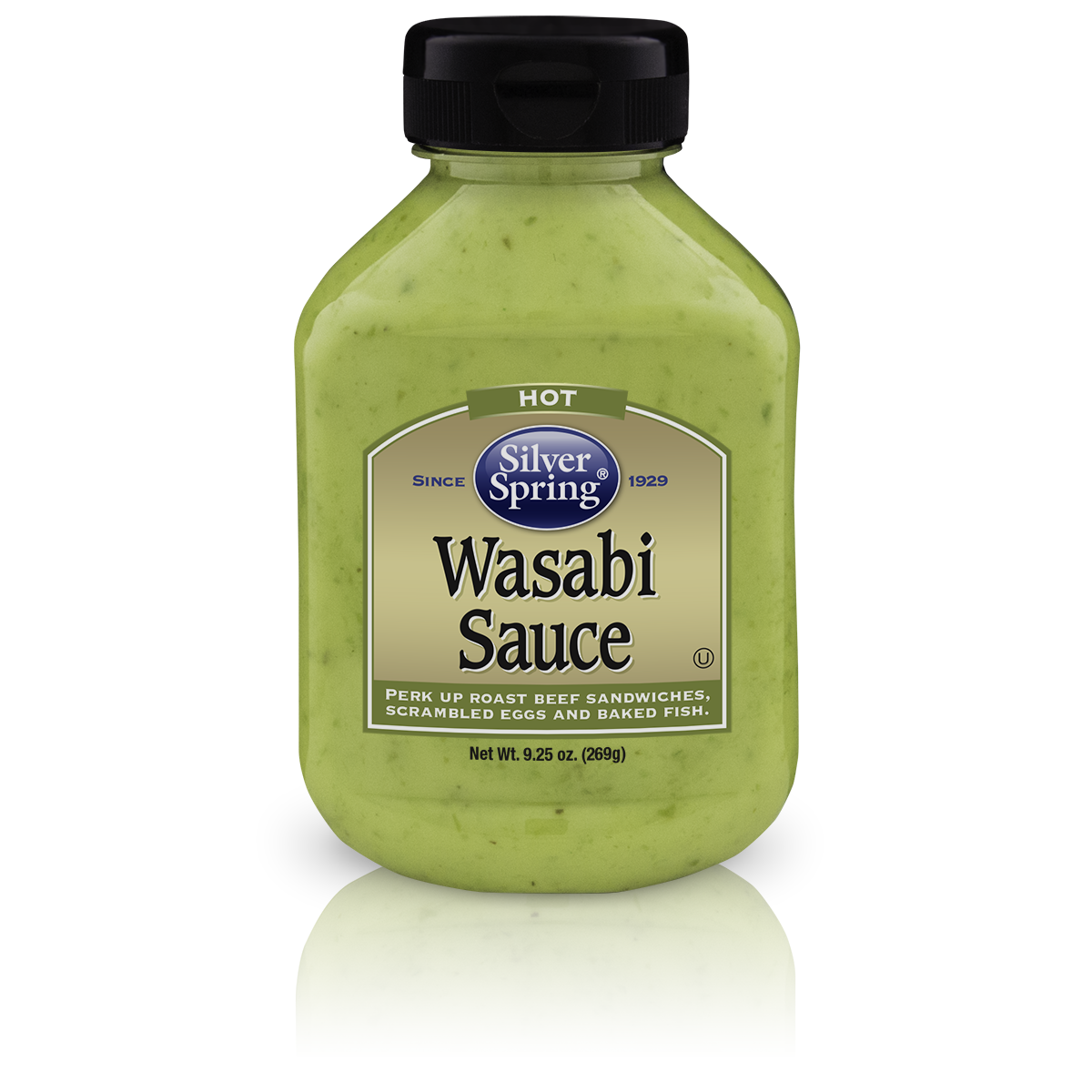 Silver Springs Wasabi Sauce, 9.25 OZ (Pack of 9)