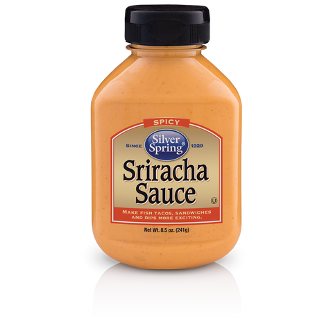 Silver Spring Spicy Sriracha Sauce, 8.5 Oz (Pack of 9)