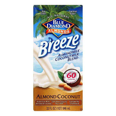 Blue Diamond Almond Coconut Almondmilk Coconutmilk Blend, 32 Oz (Pack of 12)