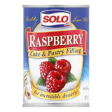 Solo Filling Raspberry, 12 OZ (Pack of 6)