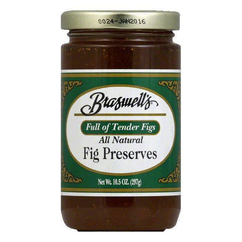 Braswell Preserves Fig, 10.5 OZ (Pack of 6)