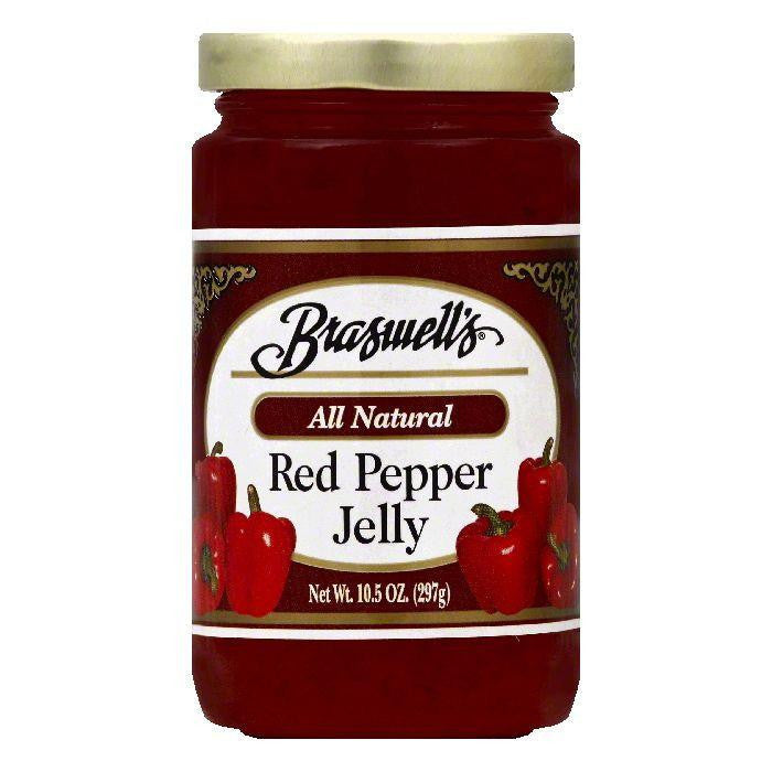 Braswells Red Pepper Jelly, 10.5 OZ (Pack of 6)