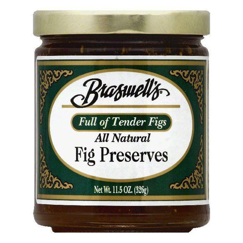 Braswells Fig Preserves, 11.5 OZ (Pack of 6)