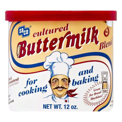 Saco Cultured Buttermilk Blend, 12 OZ (Pack of 6)
