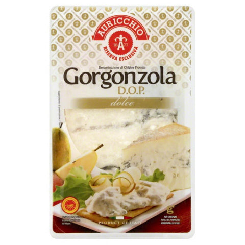 Auricchio Dolce Gorgonzola D.O.P. Cheese, 7 Oz (Pack of 10)